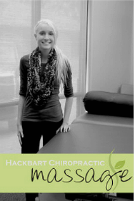 Mary Lostroh, Hackbart Chiropractic Massage Therapist
