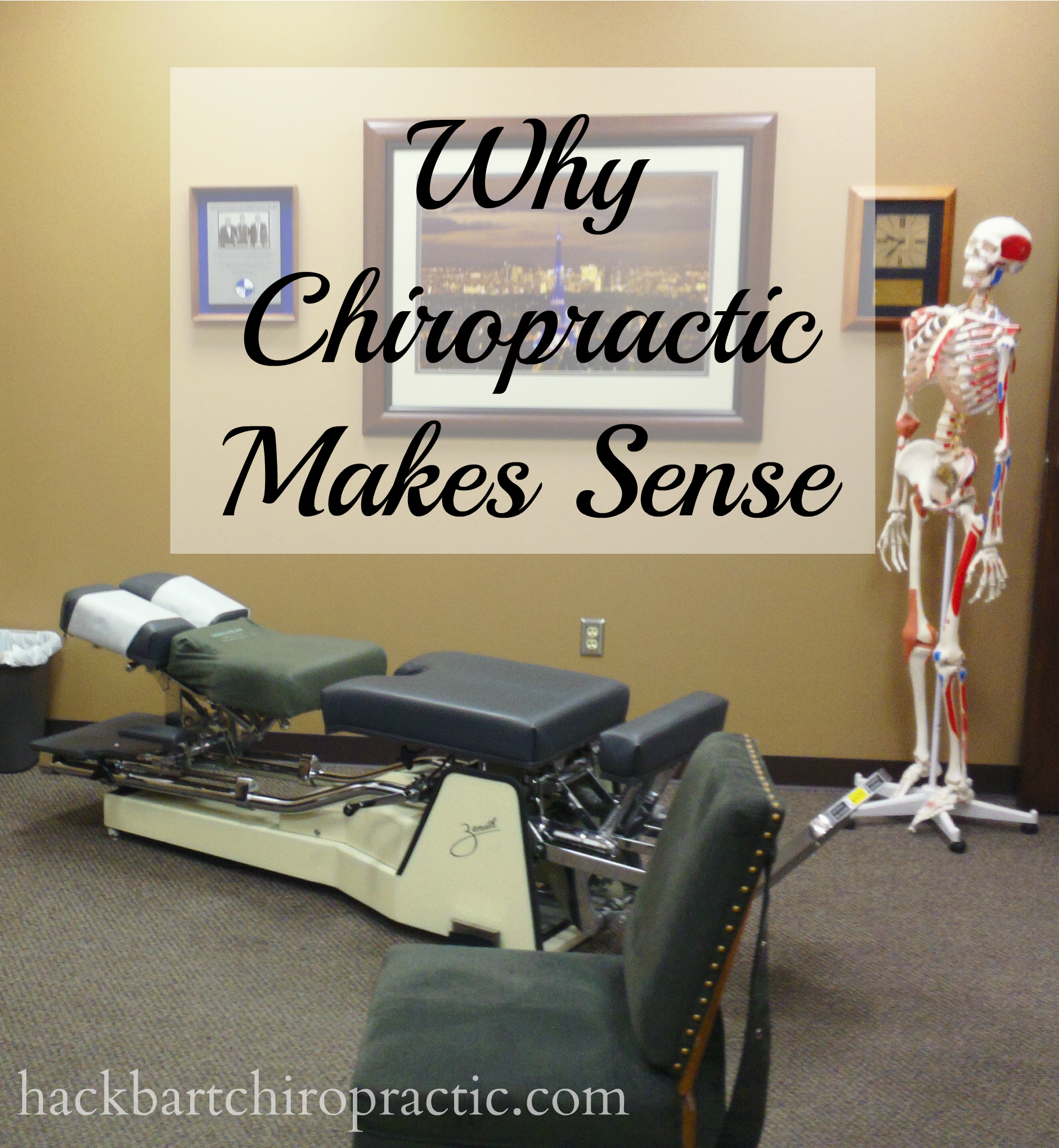 why chiropractic makes sense