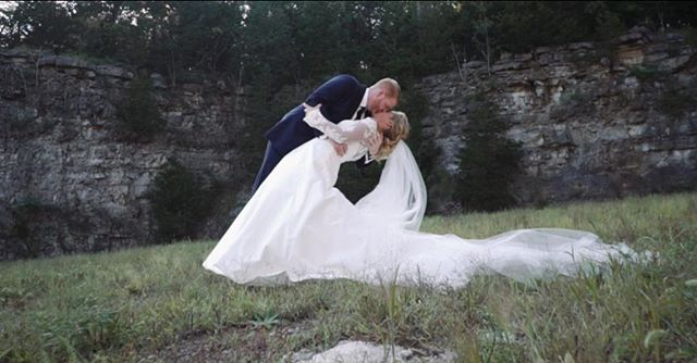 Up on the blog - the sweet fall wedding of Graham + Will at Graystone Quarry! mattgvideo.com/blog