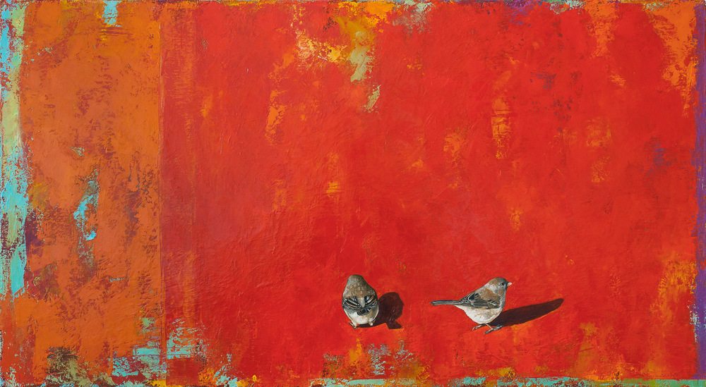 No Turning Back   2012 oil on canvas 24 x 44 inches  Private collection