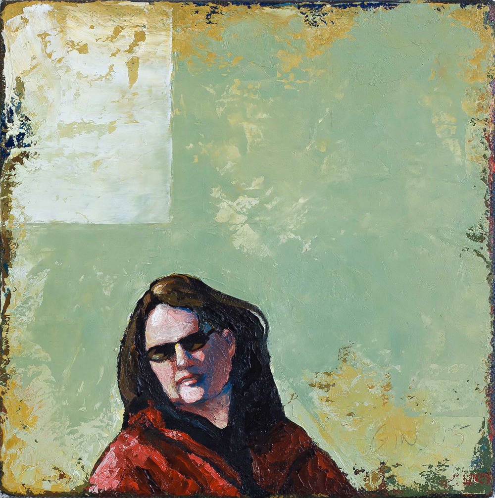 Another Look   2005 oil on canvas 8 x 8 inches  Private collection