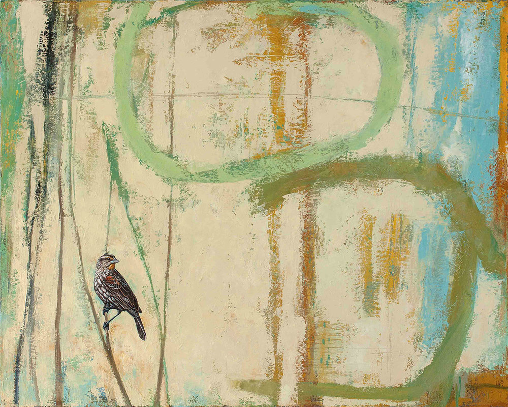 She Greets the Day   2012 oil on canvas 32 x 40 inches  Private collection