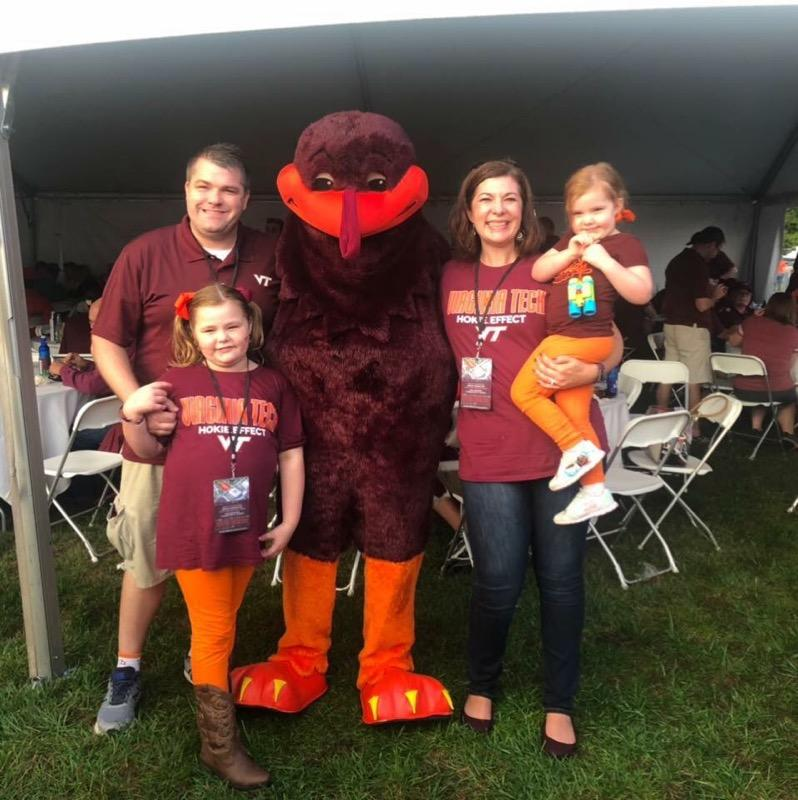 Jenna and her family are life-long Hokie's!