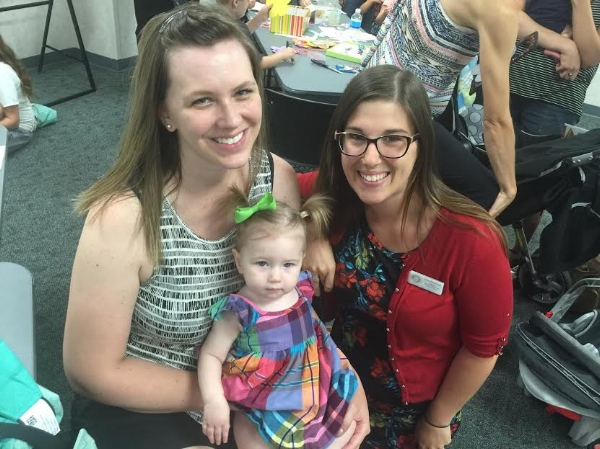 Northeast Iowa Doulas owner, Kaity Klotzbach, with Whitney and Nora.
