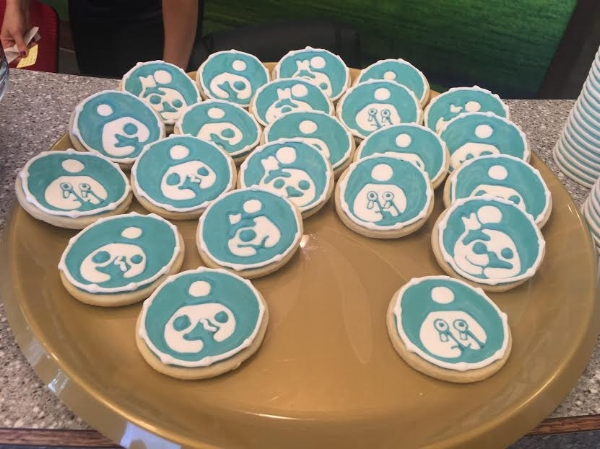 Beautifully decorated cookies sporting variations of the national breastfeeding icon were a crowd favorite. Check out  6th Street Tasty Treats  for all your cookie needs!