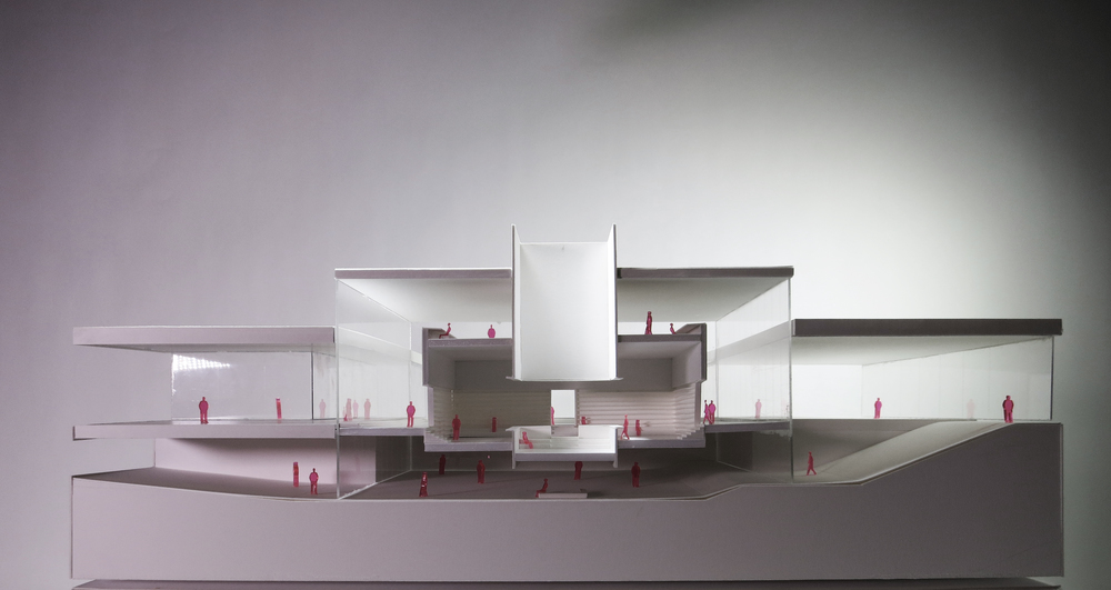 Model of the library