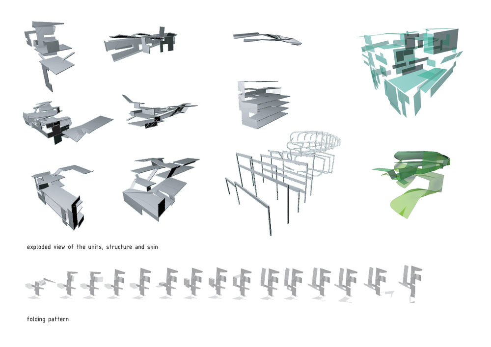 Folded components