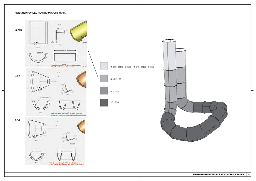 Fiber reinforced plastic modules