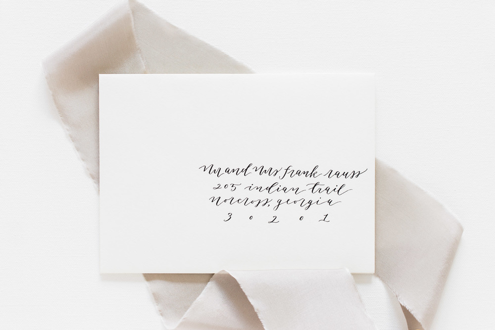 ©AlyssaRosenheck for Amy May Paper Nashville Calligraphy
