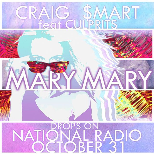 Craig Smart's killer new track Mary Mary feat. Culprits will drop on NATIONAL RADIO OCTOBER 31! We are stoked to be a part of this track and look forward to hear what you guys think! If you haven't already, check out the Culprits Facebook page and give these boys a like! www.facebook.com/culprits  www.culpritsmusic.com @craigsmartmusic  #synergizeproductions #MARYMARY www.synergizeproductions.com