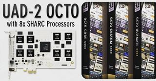 We just added the Universal Audio OCTO to the studio gear list! Eight processors means 8x the UAD power!  #studioupgrade #alltheuad #synergizeproductions  www.synergizeproductions.com