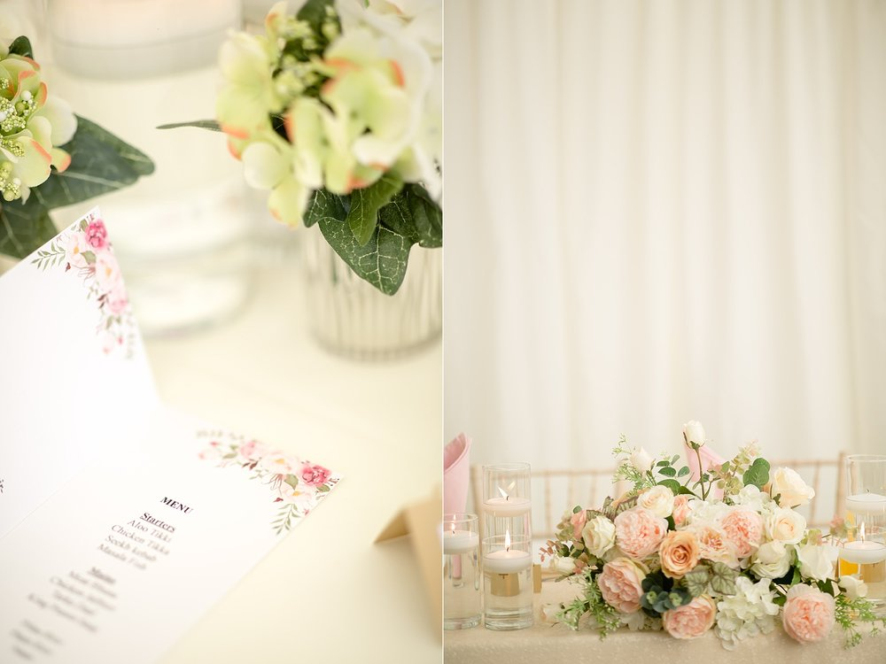 Wedding Details at Hilton Hall, Wolverhampton