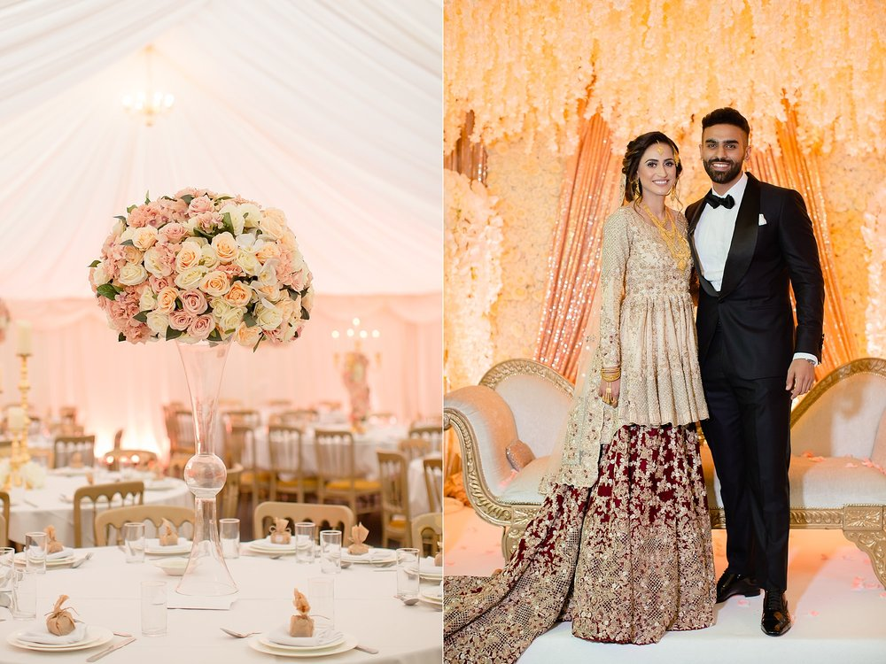 Pakistani wedding at Wroxhall Abbey Coventry