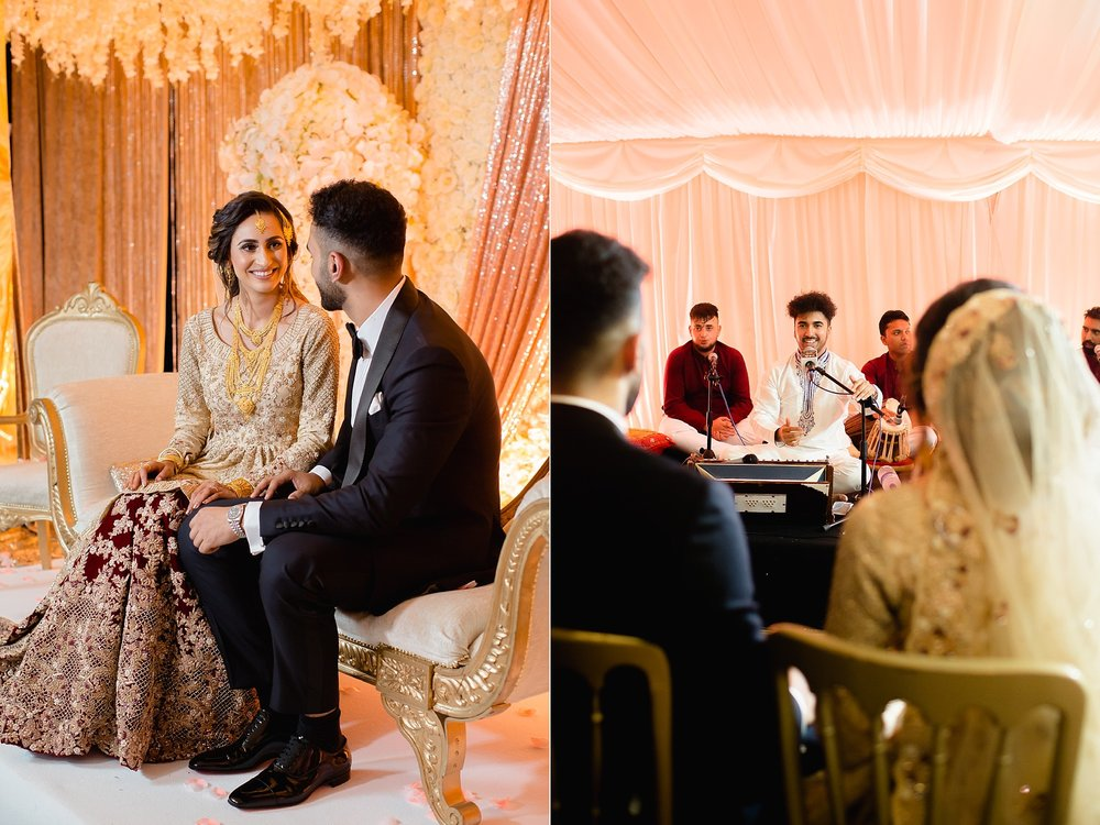 Pakistani wedding qawwali Wroxhall Abbey Coventry