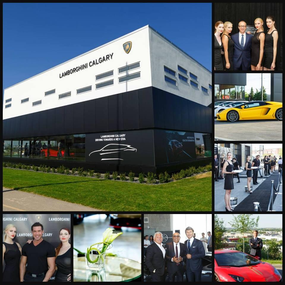 Lamborghini Opens In Calgary But Isn T Interested In Growth