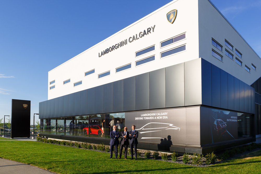 Lamborghini Opens In Calgary But Isn T Interested In