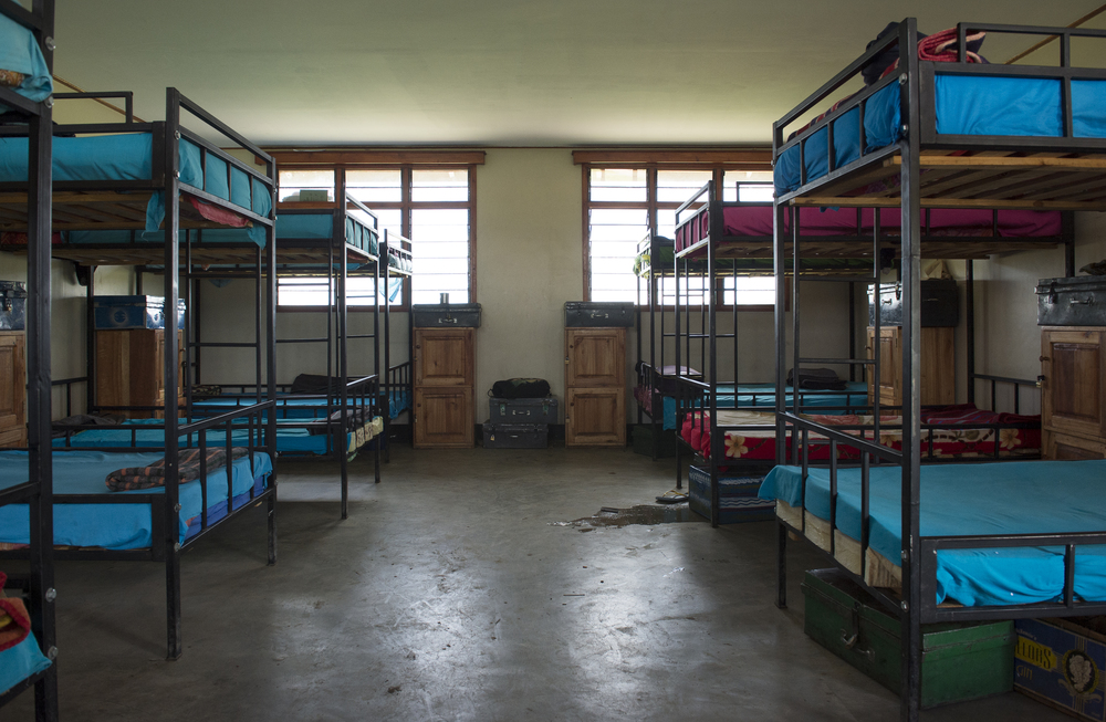 New girls' dormitory interior