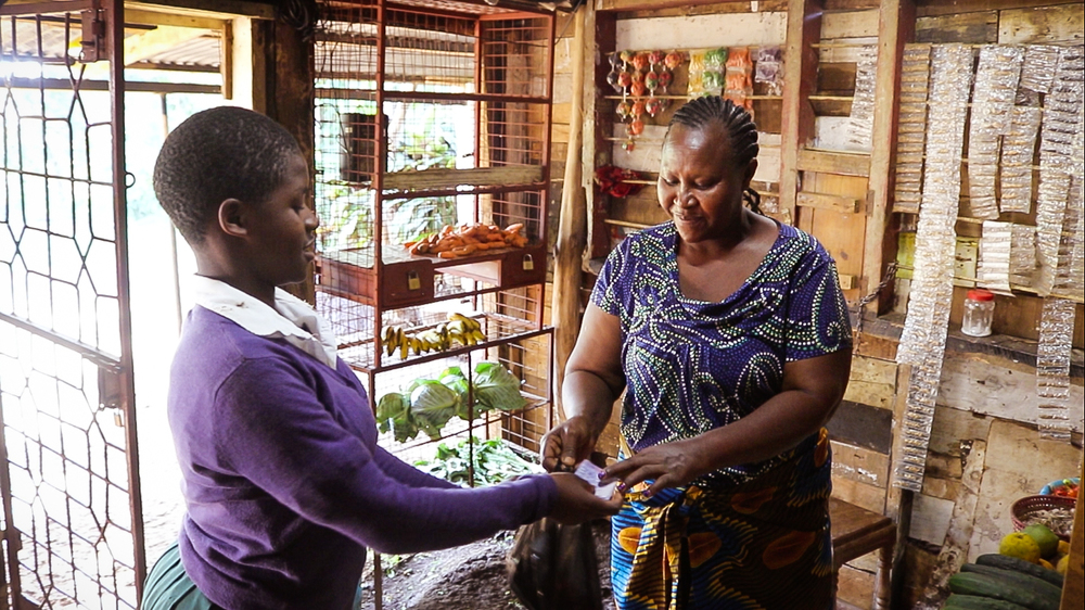 Grace is able to keep her shop open at night with solar, dramatically increasing her earnings