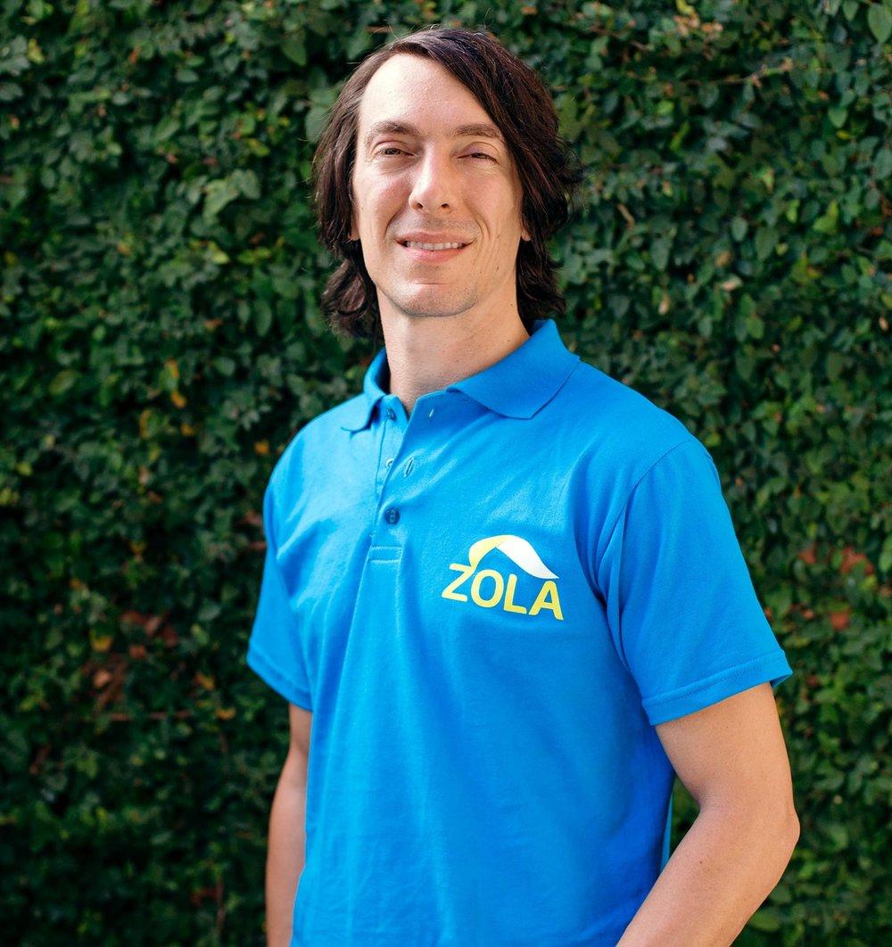 Xavier Helgesen, Co-founder, President & CTO