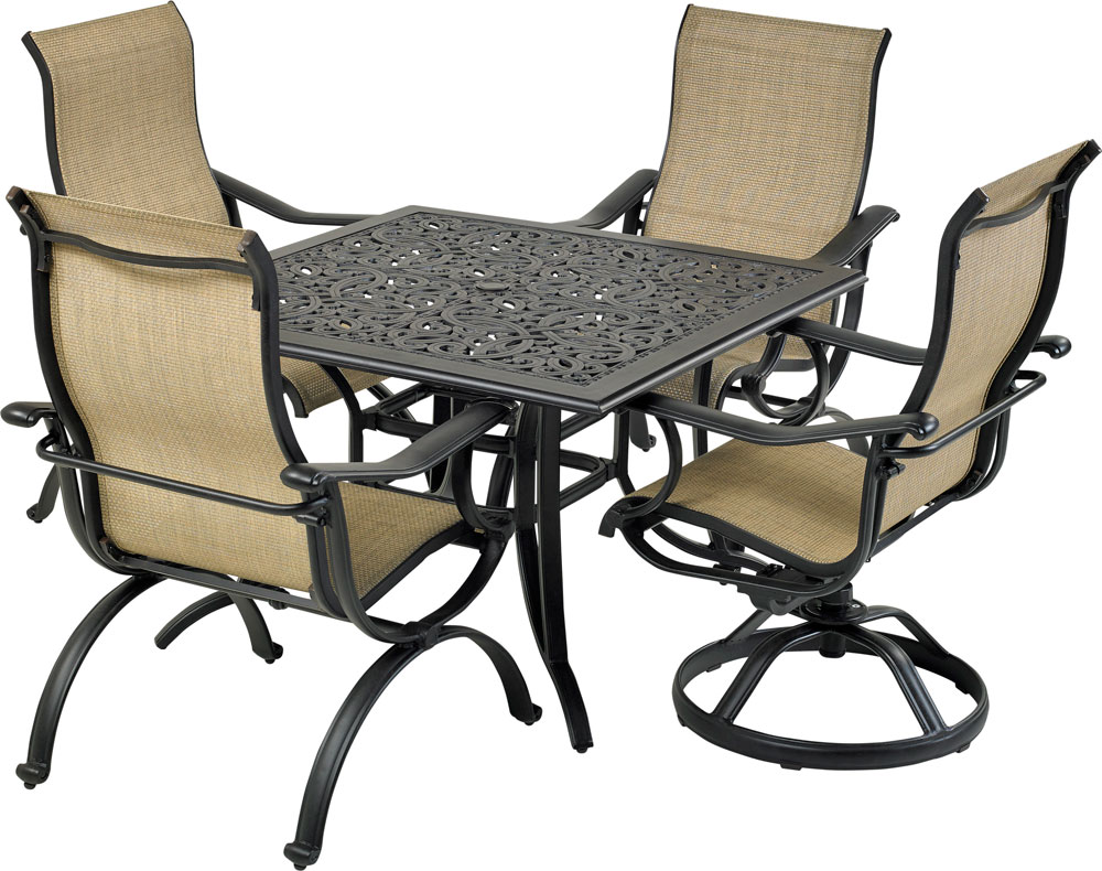 4-Chair Patio furniture set from patio resort lifestyles