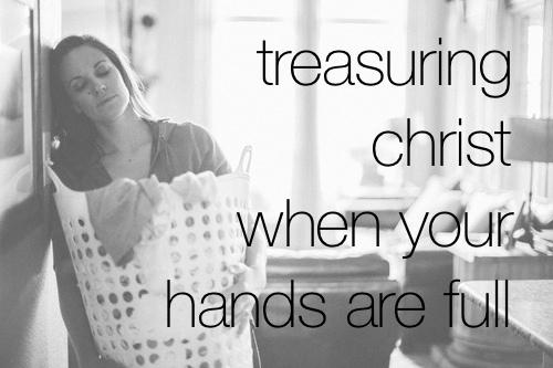 Hands full