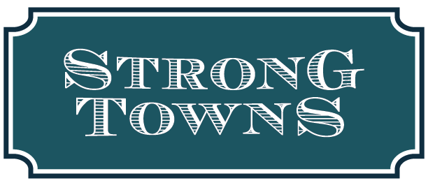 Strong Towns  has held a special place in my heart since its inception a few years back, because it seeks to help developers and city leaders build places worth caring about--with the most practical of advice and much-needed challenges to the status quo. It's a pleasure to get to do some design work for them!