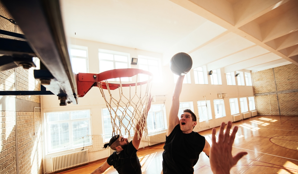 SHOOT SOME HOOPS - Gymnasium open 7 days a week!