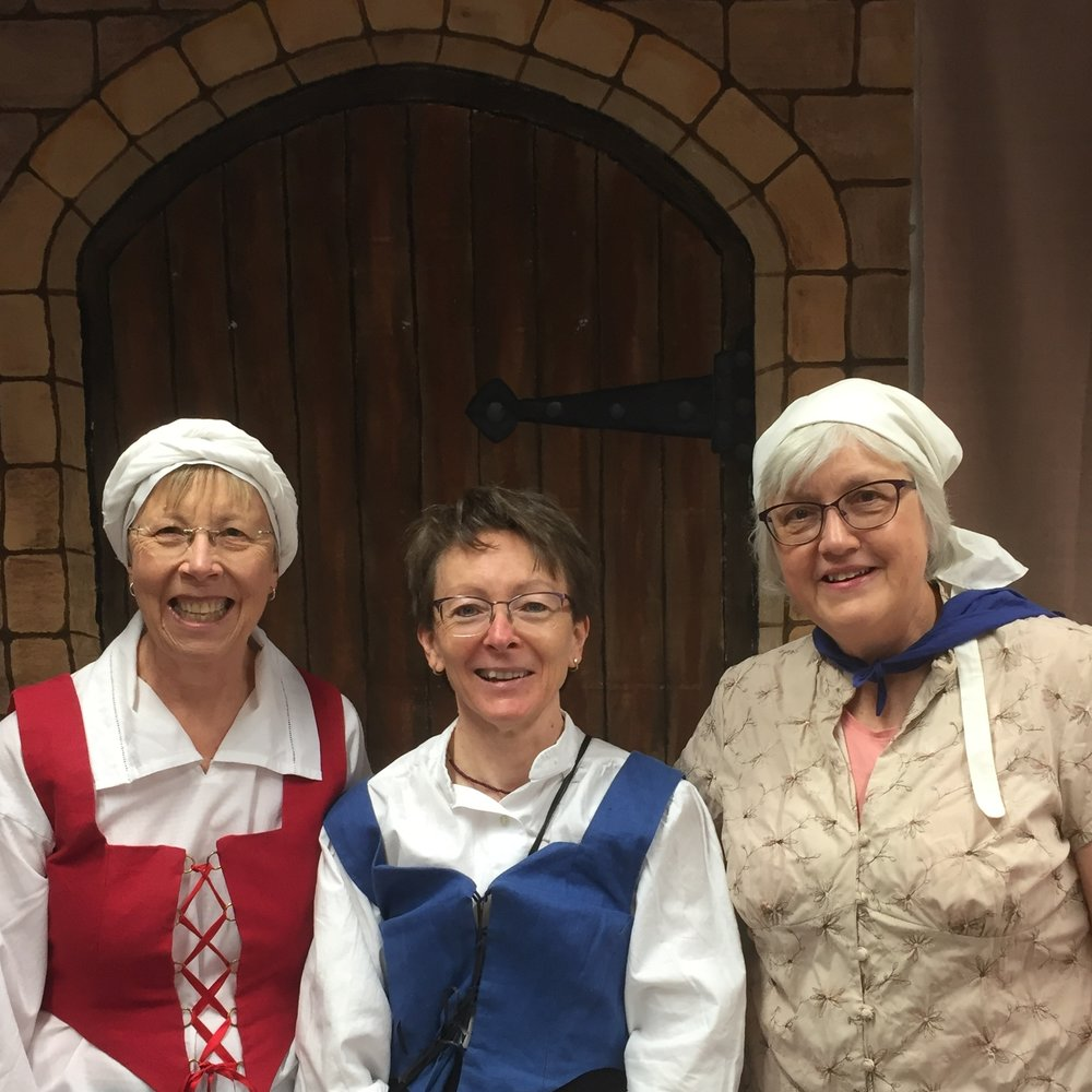 Life with the Luthers organiser (left to right): Jill Williams, Karen Ray and Marge Mills