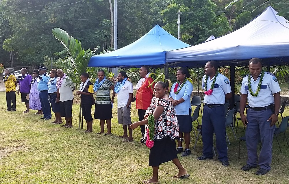 Celebrations as construction begins on the Women's Safe House and Care Centre