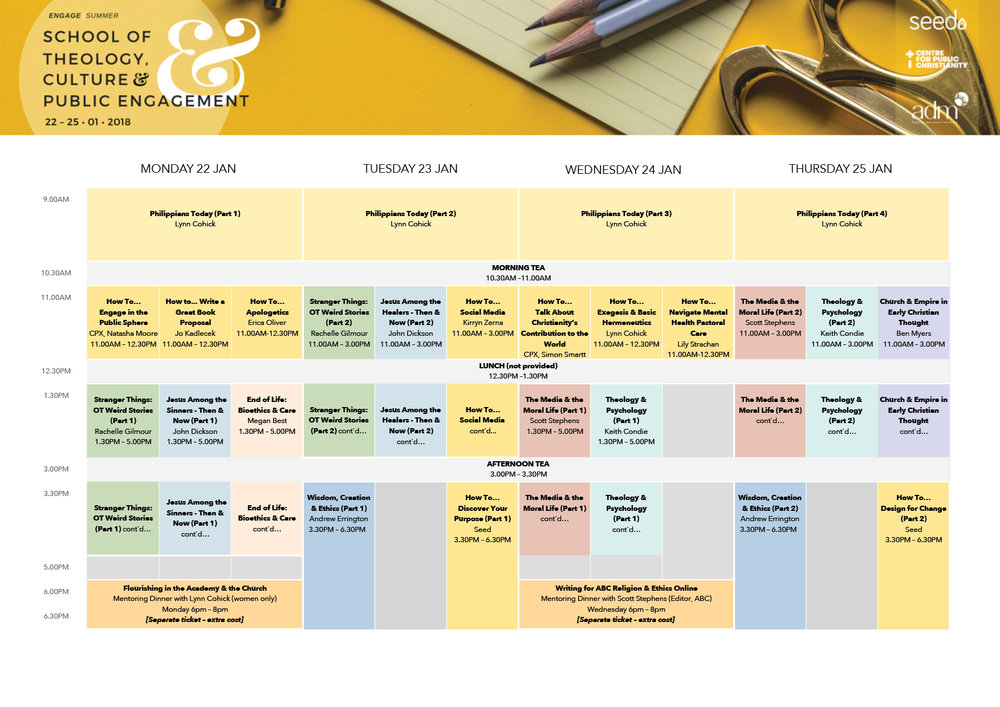 Download STCPE Timetable