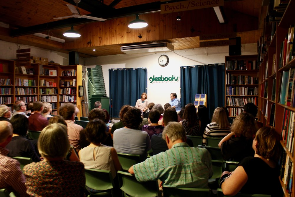The launch of  The Bible in Australia at Gleebooks last month.