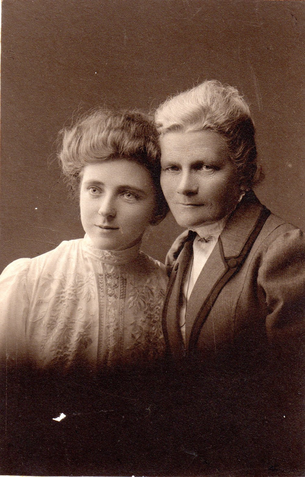 Martha Archdall (right), with her daughter