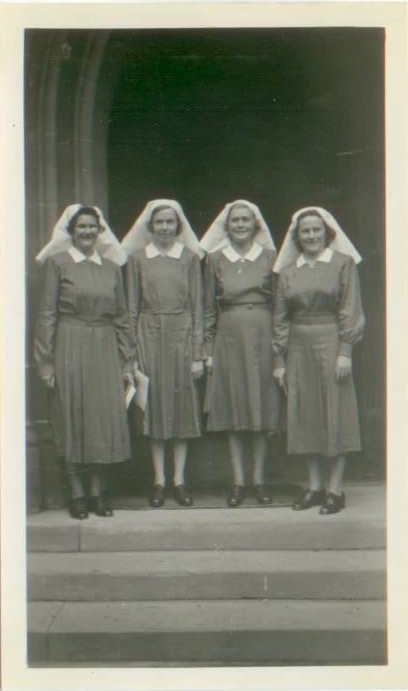 Students at Deaconess House between 1949 and 1951