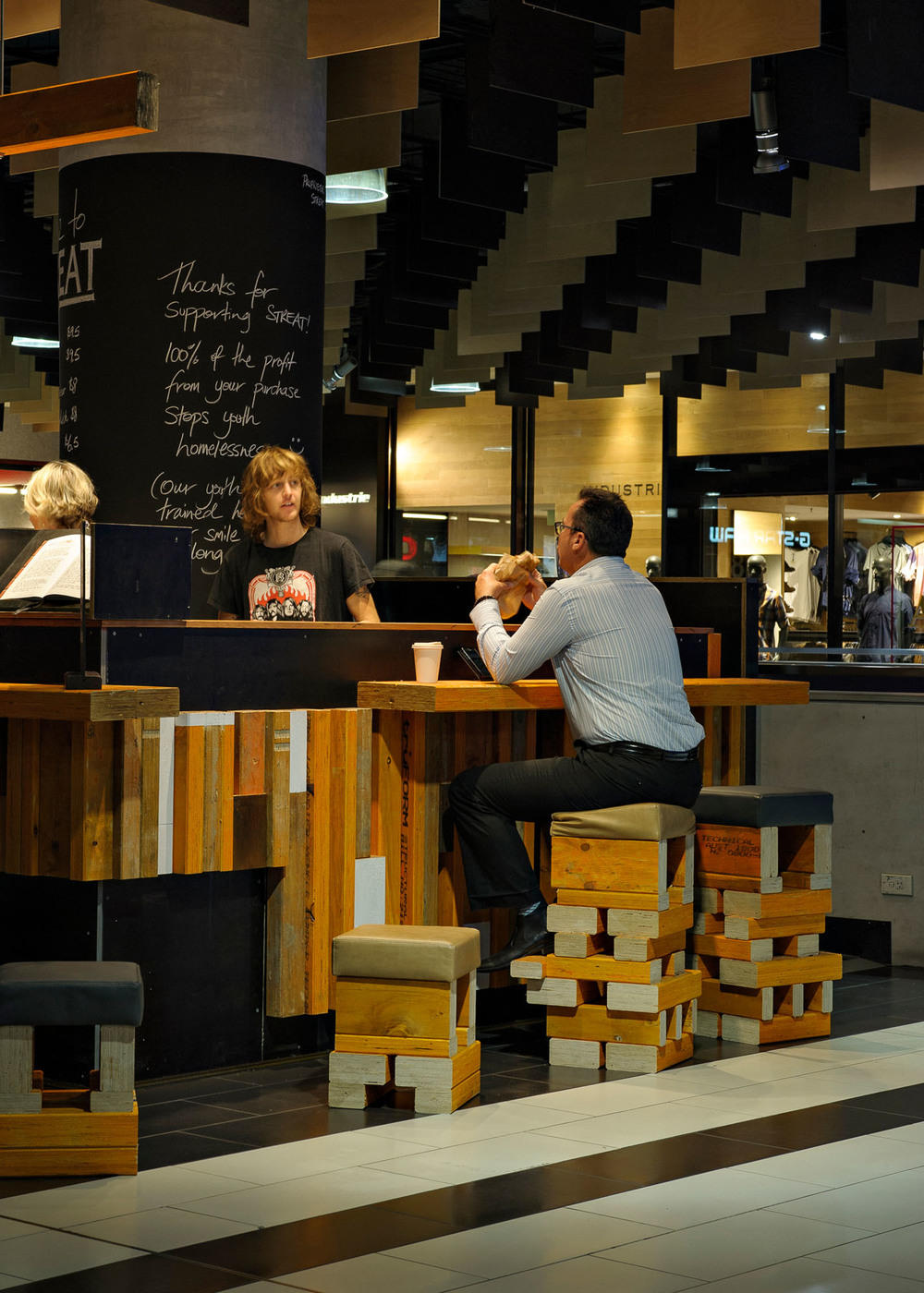 "Streat Cafe<a href=""/area-of-your-site""></a><strong>Melbourne Central</strong>"