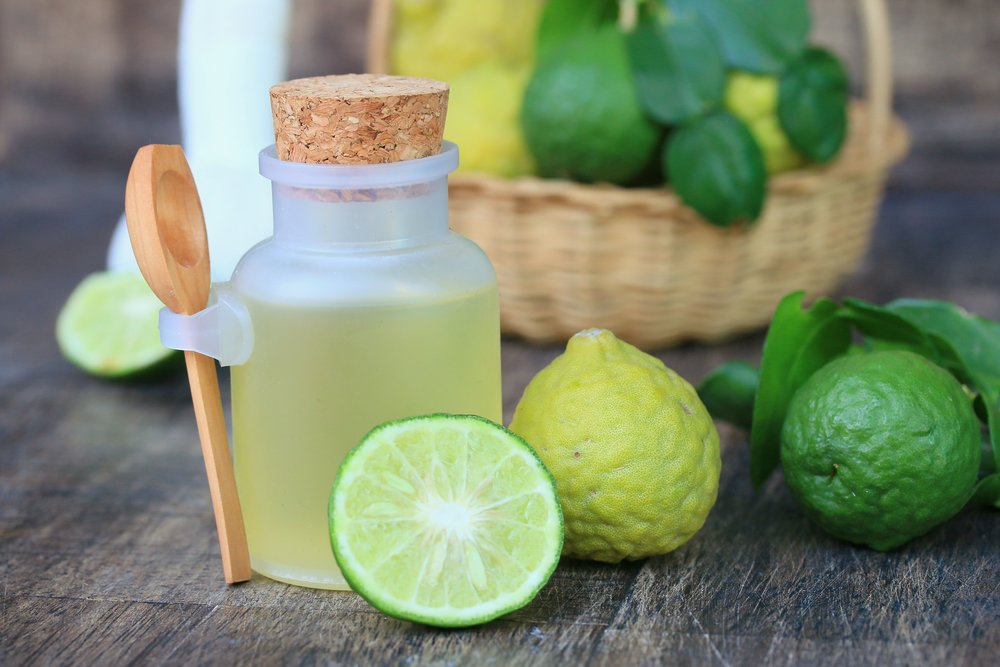 fresh kaffir lime oil