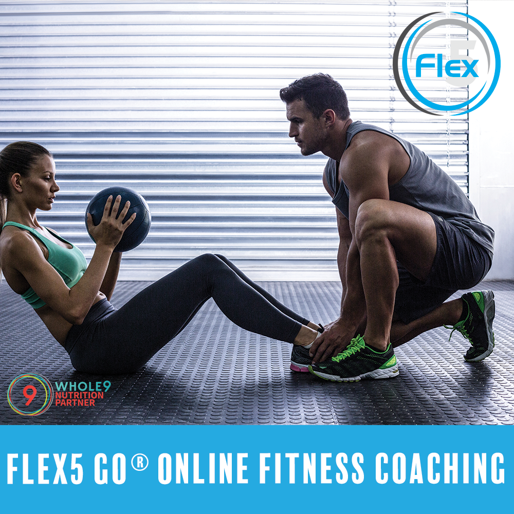 flex5-go-online-fitness-coaching-program-poster-uptown-charlotte-nc