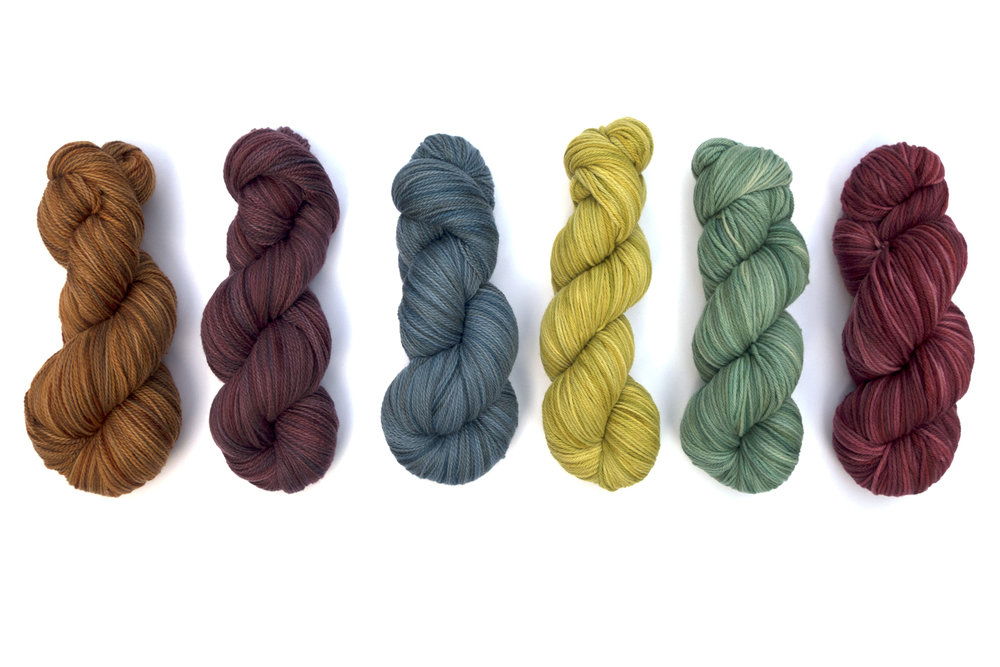 Fiber_Hand Dyed_August2017_Tassie_all colors.jpg