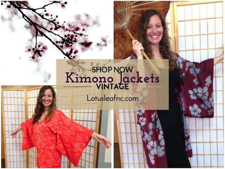 Sneak peak of Kelsey Anderson wearing vintage Kimomo jackets.