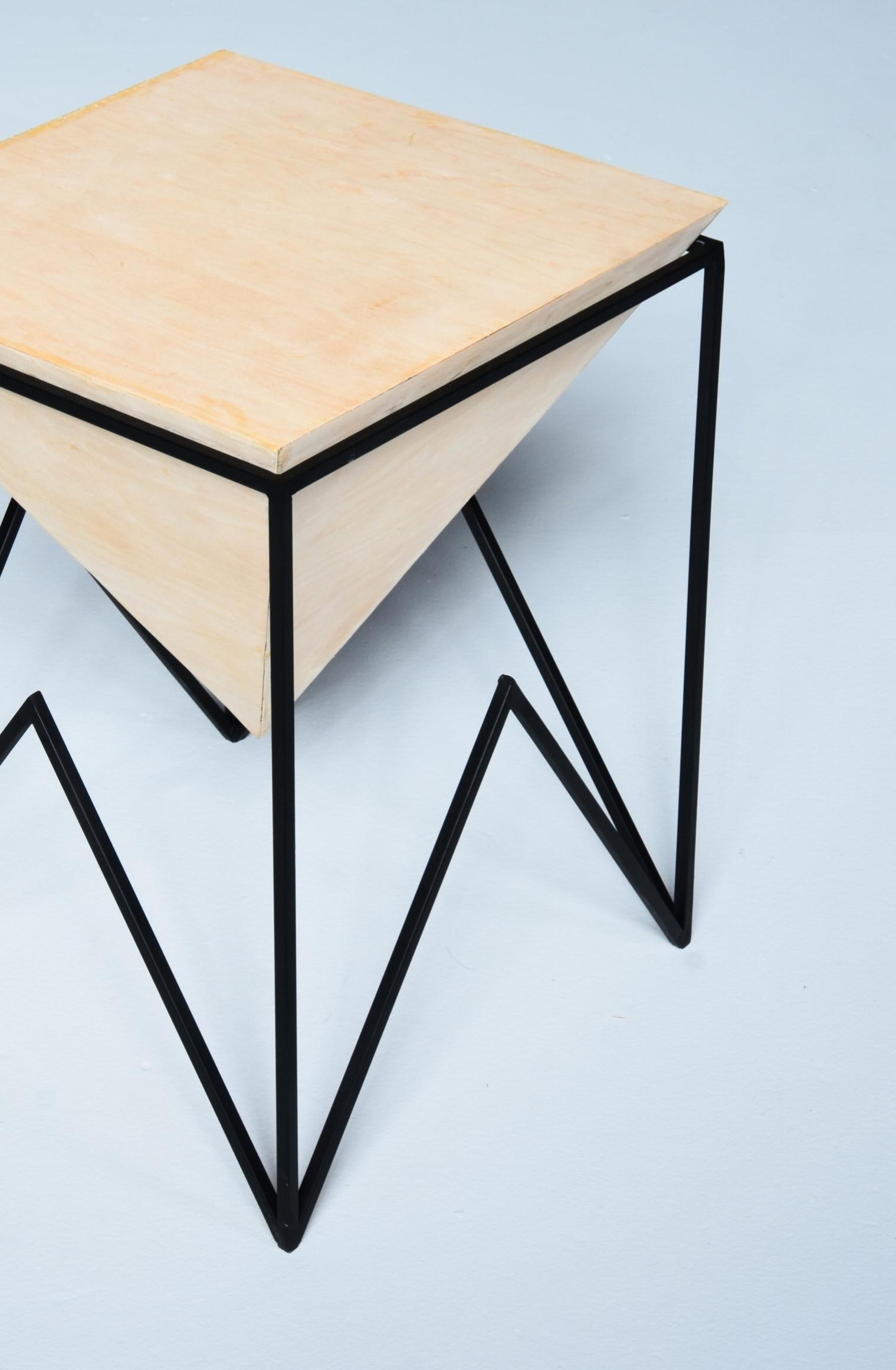Pyramid Side Table — Bailey Preib