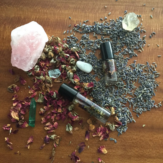Image result for crystals and essential oils