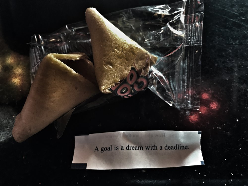 fortune cookie (mine)