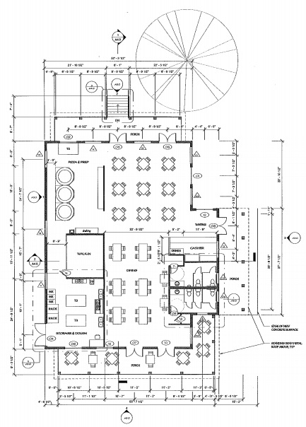 Floor plan to get an idea of where you might want to sit :)
