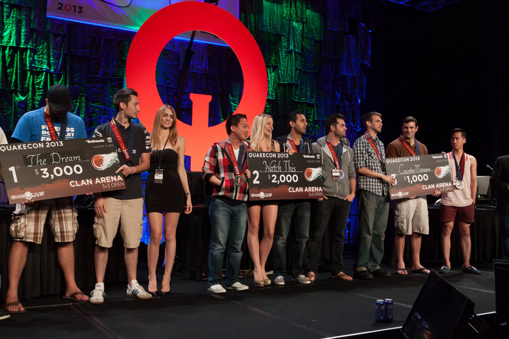QuakeCon 2013 Awards Ceremony