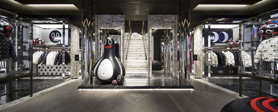 A look inside the Moncler Ginza, Japan flagship