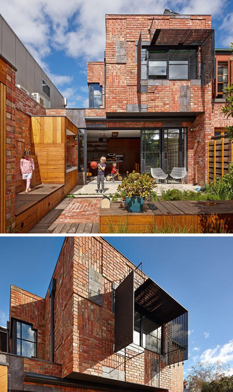 Designed by PHOOEY Architects. Photography by Peter Bennetts.