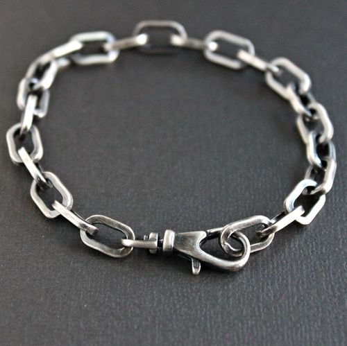 Men s Cable Chain Bracelet a888ddac6f06
