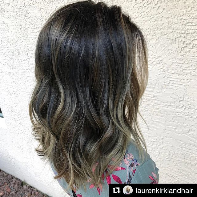 Sooooo rich 😌 by @laurenkirklandhair . . . . . . #laurenkirklandhair #btcpics #behindthechair #americansalon #modernsalon #hairbrained  #hairstylist #beautylaunchpad #maininterest #hairbrained_official #HotOnBeauty #LicenseToCreate #haindpainted #balayage #balayageandpainted #brunettehair #ashyhair #kadus #kadusprofessional #daytonabeachhair #daytonabeachhairstylist