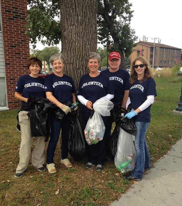 GSDC Participates in United Way day of caring