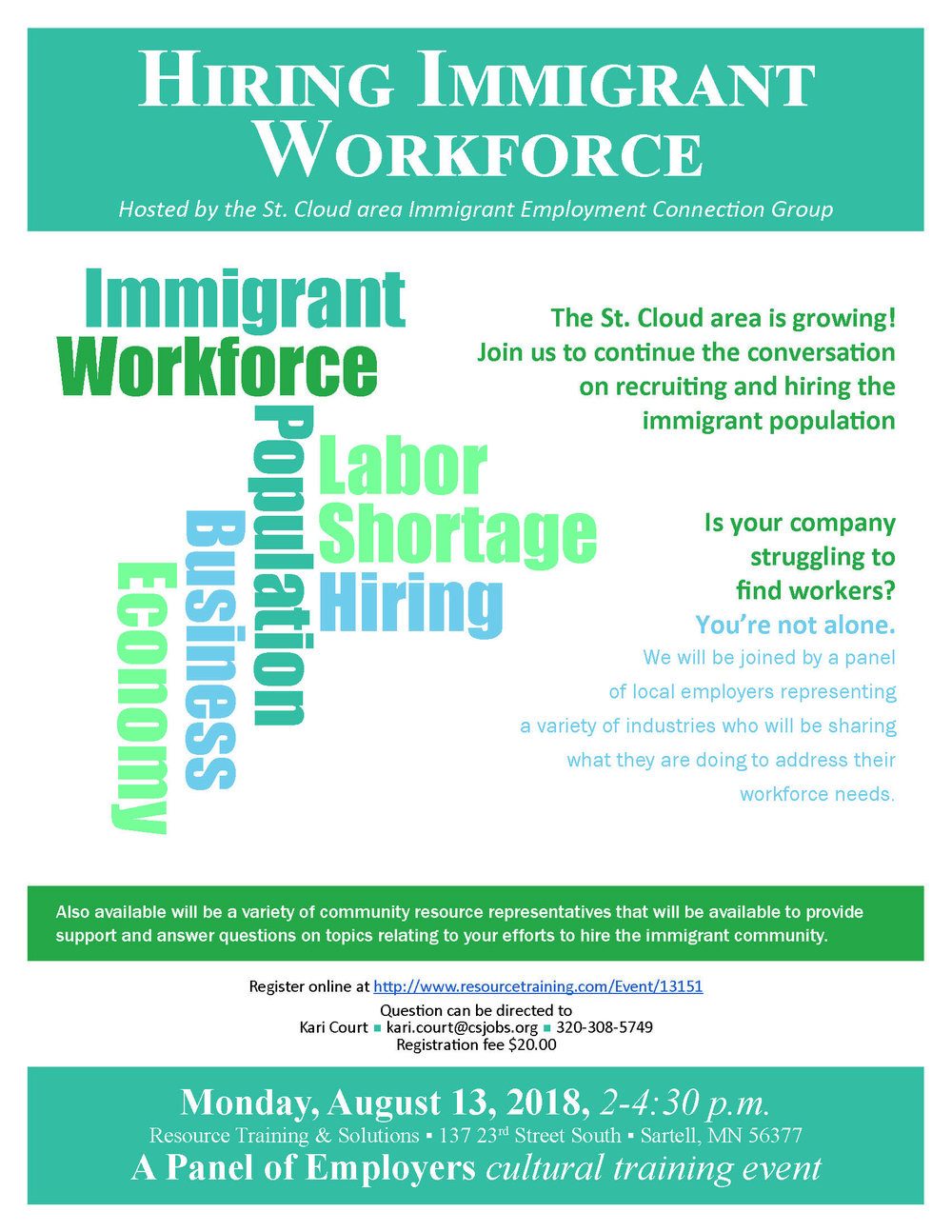 Curious About Hiring The Immigrant Workforce Join Us On August 11