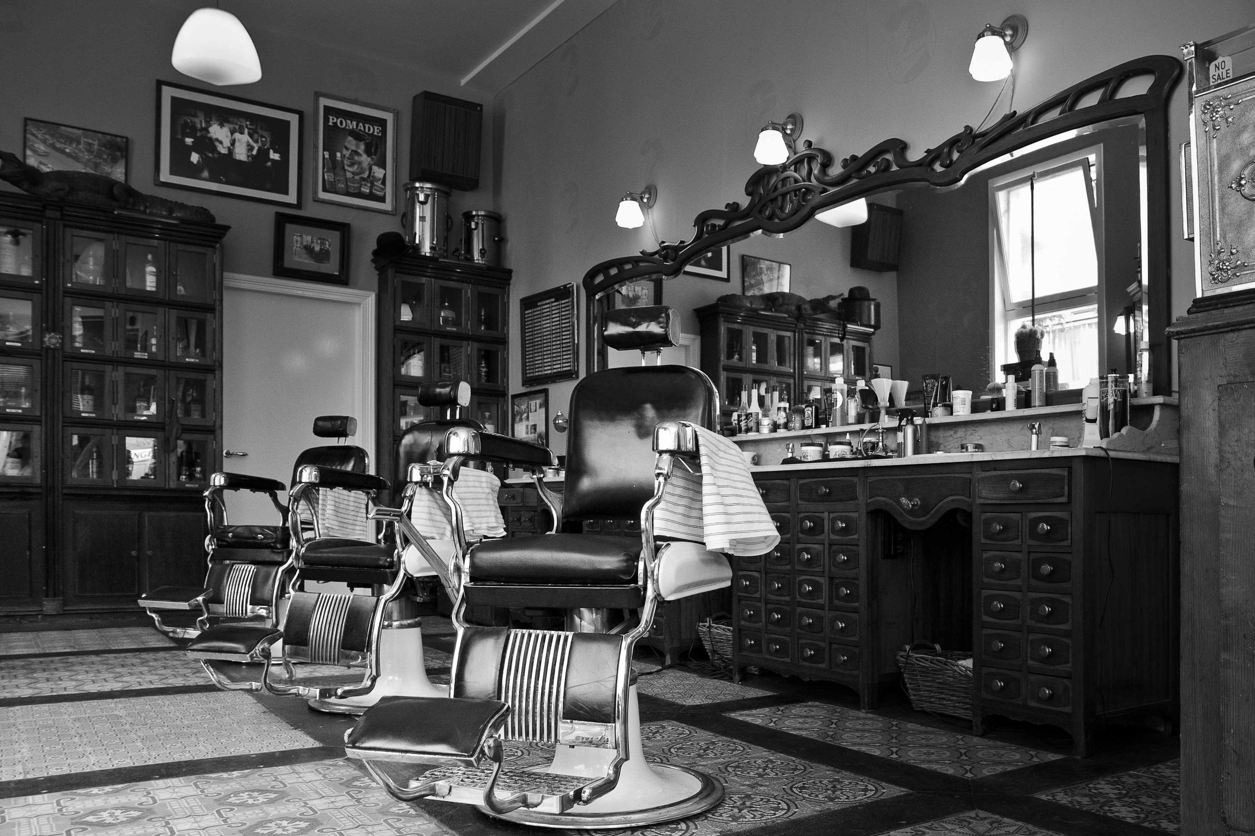 The Barbershop Shaving Parlor